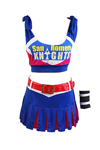 Ya-cos Swimsuit Lollipop Chainsaw Juliet Starling Dress Cosplay Costume from Ya-cos