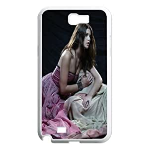 Samsung Galaxy N2 7100 Cell Phone Case White Ashley Green JSK669506