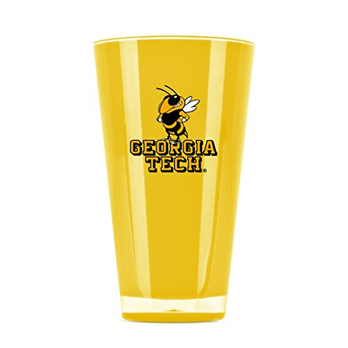 (NCAA Georgia Tech Yellow Jackets 20oz Insulated Acrylic Tumbler)