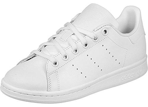 adidas Stan Smith, Sandalias con Plataforma Unisex, Blanco, 4.5 EU Weiß