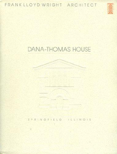Dana-Thomas House, Springfield Illinois, Frank Lloyd Wright, Architect