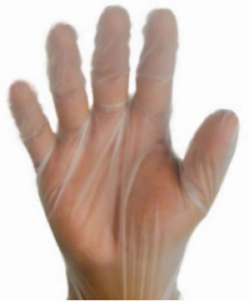 100個パックのビニール製パウダー手袋。 ナチュラルカラー保護手袋。 手頃な価格の工業グレード手袋。 使い捨て高耐久ラテックスフリー手袋 医療用不使用。 Mサイズ。 快適なフィット感。 非滅菌。 B07HQYVBDN