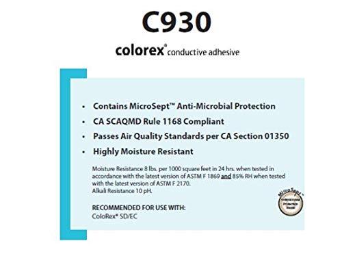 Forbo C-930 Colorex Conductive Flooring Adhesive - 4 Gallon Pail