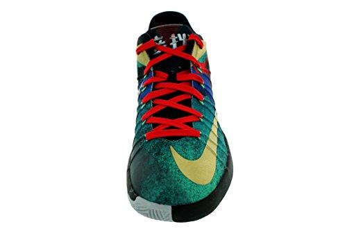 Nike Menns Hyperdunk 2015 Low Limited (beijing) Basketball Sko Blk / Mtllc Gld / Uncrsty Rd / Hvit