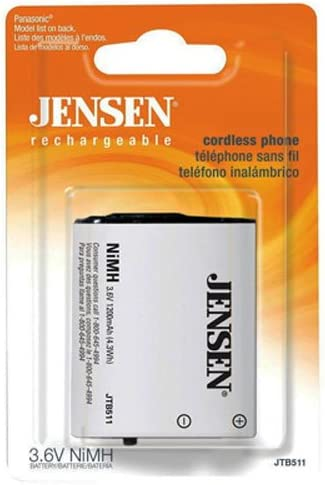 BT-1005 Jensen JTB511 Cordless Phone Battery for Uniden BT-446