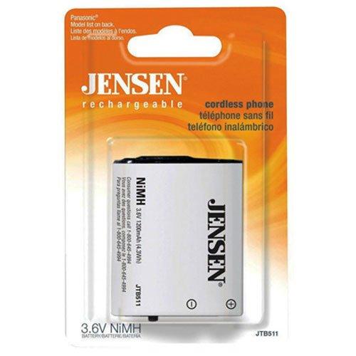 Jensen JTB511 Cordless Phone Battery for Uniden BT-446, BT-1005 (Cordless Phone Battery Bt446)