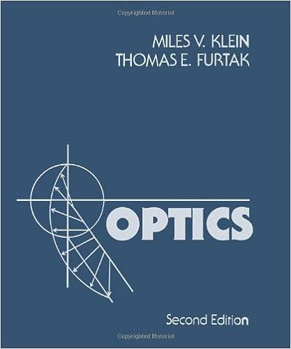 Optics miles v klein thomas e furtak 9780471872979 amazon optics 2nd edition fandeluxe Image collections