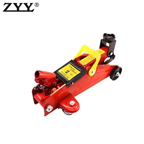 """grille4u 1pc 2 Ton Portable Small Mini Floor Heavy Duty steel Jack 13"""" Trolley Car Garage Hydraulic Lift Hoist"""