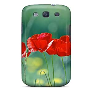 High Quality FhE776zqVG Flowers Tpu Case For Galaxy S3