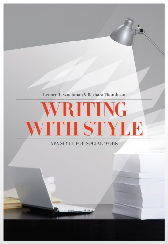 Writing with Style: APA Style for Social Work (Social Work Research Methods / Writing / Evaluation) Pdf