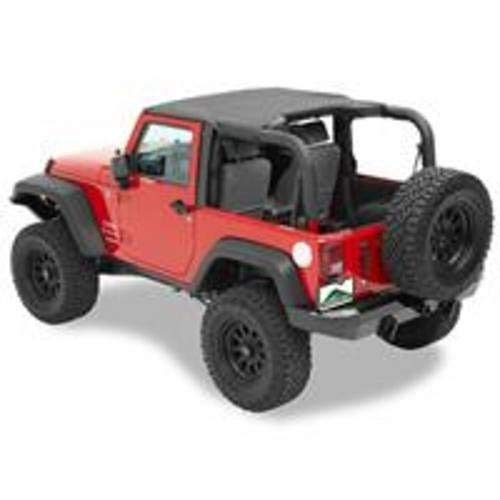 (Pavement Ends by Bestop 41522-36 Khaki Diamond Sun Cap for 2007-2017 Wrangler JK 2-Door)