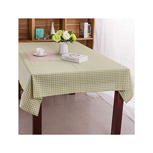 SunnyWarm Christmas Tablecloth Christmas Tree and Deer Linen and Cotton Fresh Table Cloth New Korean Style,Lg,100140Cm
