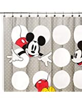 Disney Mickey Vinyl Shower Curtain   Eco Friendly U0026 Chlorine Free