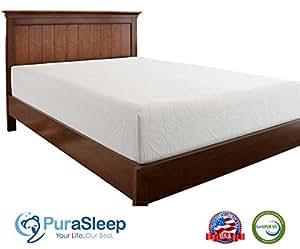Amazoncom Purasleep Synergy Luxury Cool Comfort Memory Foam