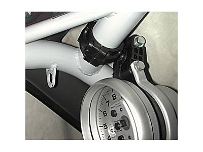 Auto Meter 48005 Roll Cage Gauge Pod Tachometer Mount for 1-5/8
