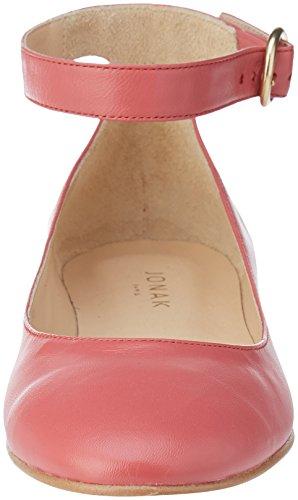 001 Rose Riemchenballerinas Villa Pink Damen JONAK fnwRTqaS