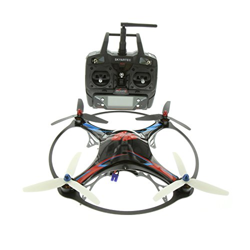 Skyartec Butterfly 250 2.4Ghz RTF 3-Axis Brushless RC Quadcopter without Battery by Skyartech