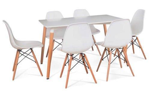 Charles & Ray Eames Eiffel DSW - Sillas y mesa de estilo retro ...