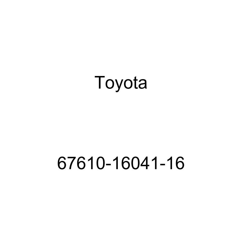 Genuine Toyota 67610-16041-16 Door Trim Board