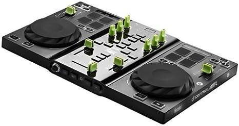 Hercules 4780741 - Controlador DJ, negro y verde: Amazon.es ...