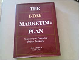 Book One Day Marketing Plan (Business)