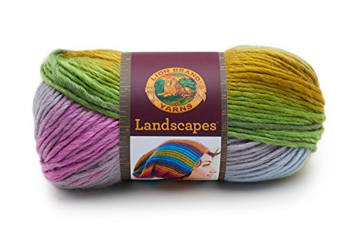 Lion Brand Yarn 545-209 Landscapes Yarn, Wild Flowers