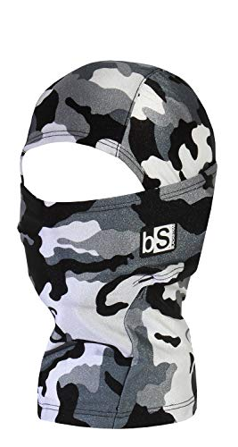 BLACKSTRAP Kid's Balaclava Hood, Snow - Snow Shape Kids Ski