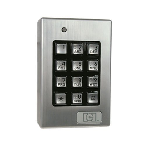 International Electronics 0-212SE -0212140- IEI Door-gard Sealed Env. Outdoor Keypad System, 120 User by International Electronics