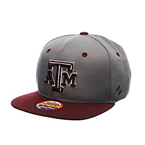 Zephyr ZEPHY YOUTH TEXAS A&M AGGIES Z11 SLATE ZWOOL ADJUSTABLE HAT GRAY by Zephyr 1048675
