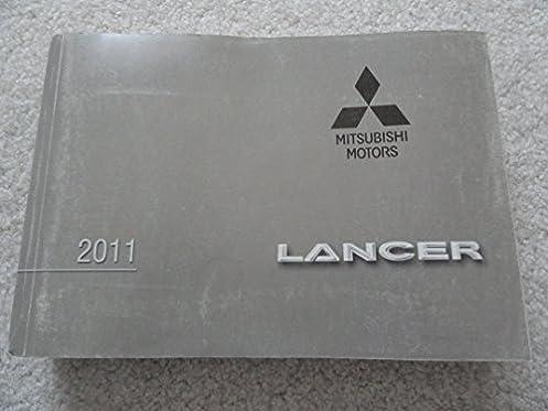 2011 mitsubishi lancer owners manual mitsubishi amazon com books rh amazon com 2011 Mitsubishi Lancer ES 2018 Mitsubishi Lancer