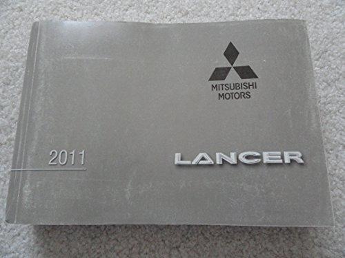 2011 Mitsubishi Lancer Owners Manual (Manuals Mitsubishi Owners)