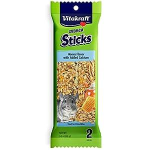 Vitakraft Chinchilla Treat Sticks With Added Calcium 2 Pack,  3.5 Ounce 26