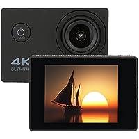 Kanzd Waterproof 4K F60R Wifi HD 1080P Ultra Sports Action Camera DVR Cam Camcorder (Black)