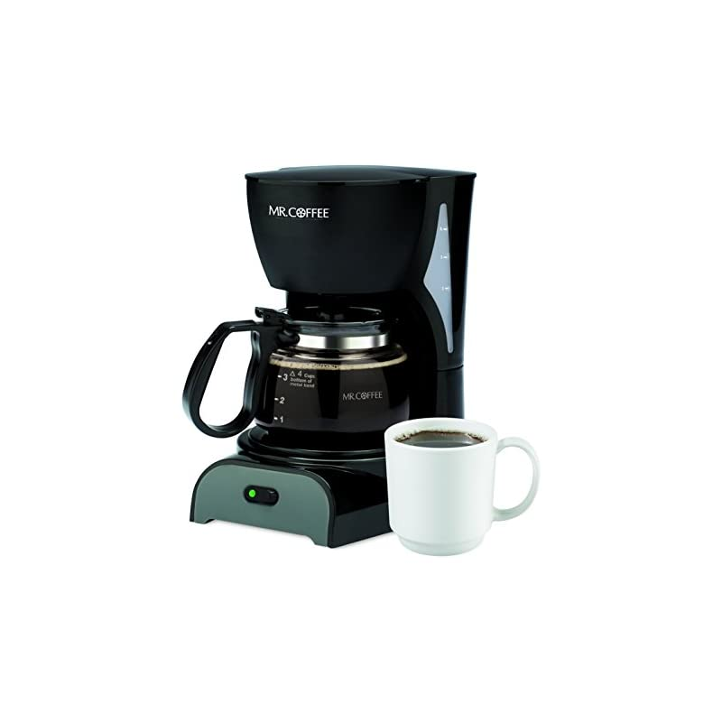 Mr. Coffee Simple Brew 4-Cup Coffee Make