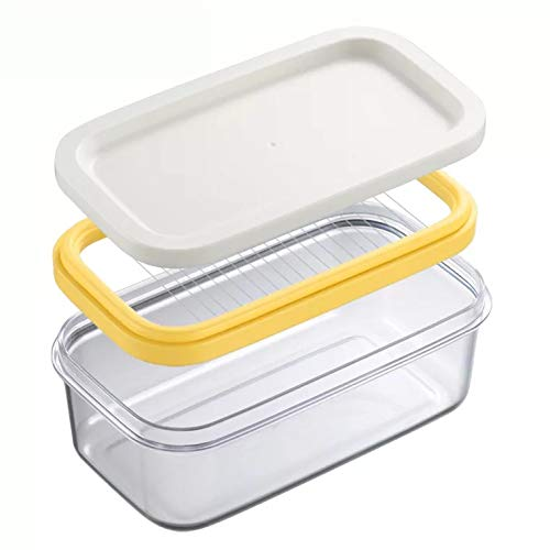 (2 in 1 Butter Slicer and Saver Keeper Case)