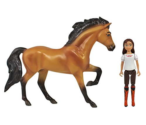 Breyer Spirit Riding Free - Spirit and Lucky Small Horse and Doll Toy -