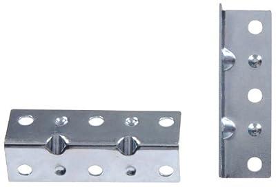 The Hillman Group 852183 2-1/2 x 3/4-Inch Inside Corner Brace, Zinc Plated