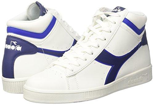 High EU 45 Azzurro Bianco Sneaker P BCO Game Uomo Diadora Estate Alto Blu Scuro Collo a 6ZEawHWS