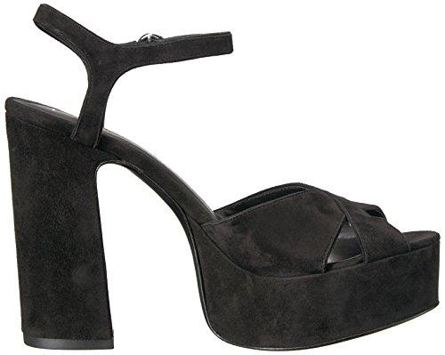 Marc Jacobs Vrouwen Lust Platform Sandaal Zwart