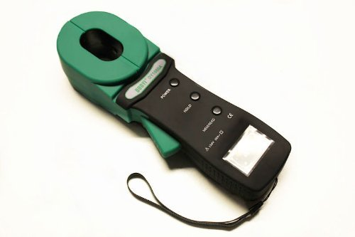 DY1000A Digital Clamp-on Grounding Earth Resistance Tester Meter W/Case: Amazon.com: Industrial & Scientific