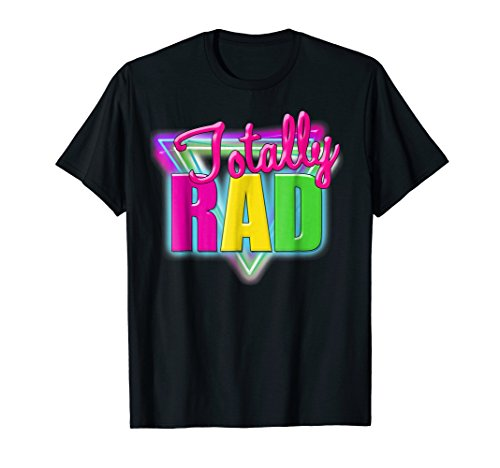 Totally Neon Retro Halloween Costume 1980s T-Shirt