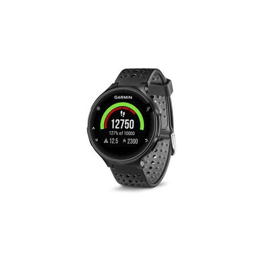 Garmin Forerunner 235 GPS Sport Watch Black/Gray Charging Clip Bundle includes Forerunner 235 GPS and Charging Clip