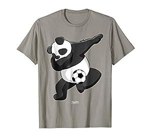 Dabbing Panda Soccer Love Panda Dab Funny Panda Lover Shirts