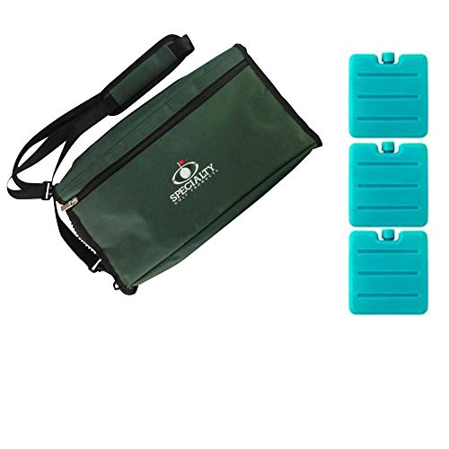 Golf Cooler Bag with 3 Ice Packs Makes Great Gift for Any Golf Fanatic