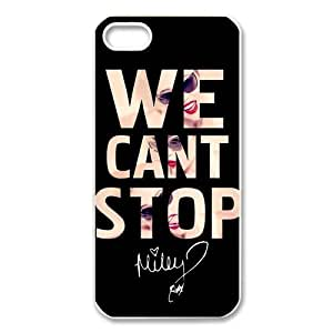 Collectibles Miley Cyrus Apple Iphone 5S/5 Case Cover We Can Not Stop Quotes by runtopwell