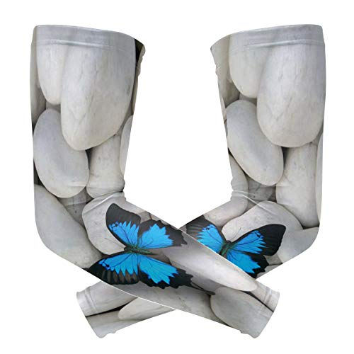 Butterflies Armband Tattoos - Fly teenager Sport Skin Arm Sleeve Fancy Butterflies Cooling Sleeves UV Cover Sun Protective Stretch Armband