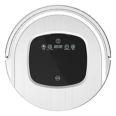 JJYJQR Robot Aspirador Sweep Floor Robot Aspirador Home Totalmente Automático Ultra Thin Intelligent Mop Cleaners, Blanco: Amazon.es: Hogar