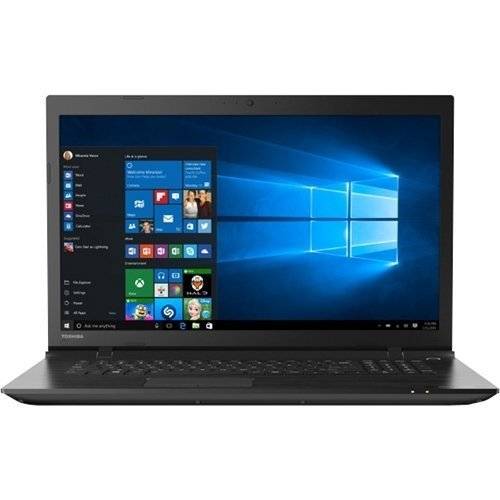 Toshiba 17.3-Inch HD  Laptop PC (Intel Core i3-5005U, 6GB RAM, 750GB HDD, Bluetooth, HDMI, WIFI, SuperMulti DVD/CD Burner, Windows 10) (Toshiba 750gb Laptop)