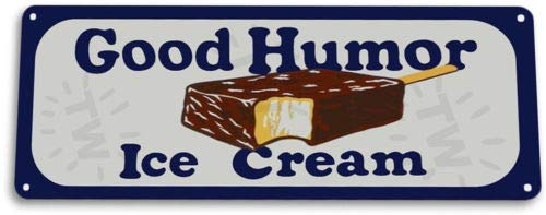 TIN Sign Good Humor Ice Cream Kitchen Rustic Retro Ice Cream Metal
