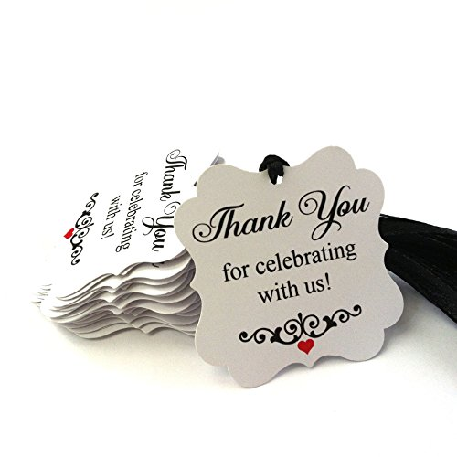Thank You for Celebrating with Us Favor Tags - Set of 24 by Adore By Nat